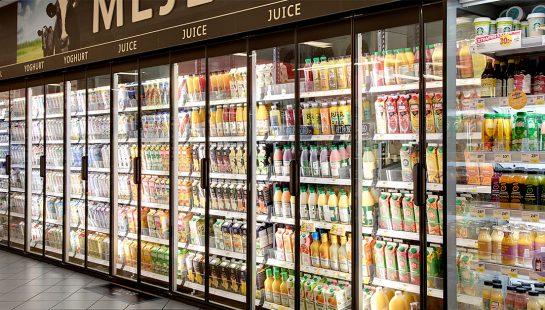 En lösning från Scantech hos ICA Supermarket Bjärred